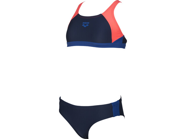 arena Ren Bikini Ragazza, navy-shiny pink-royal